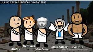 Julius-Caesar-characters