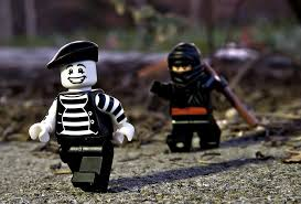 ninja vs mimes