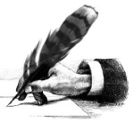 284_Feather_Pen_Writing