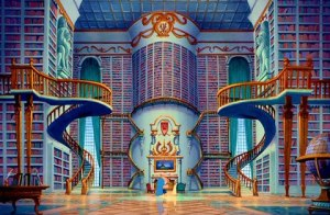 we even love fictional libraries