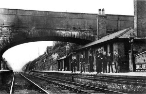Crossgates Station c 1890 Has nothing to do with the story, but I thought it was interesting