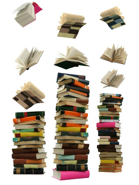 Book fall